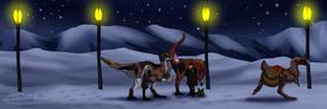 Monthly: Santa's secret service by Crashfurs
