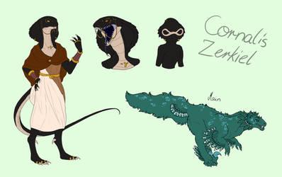 OC: Cornalis Zerkiel by Crashfurs