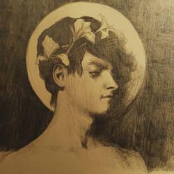 Study of a Boy by MoonlightCorvus