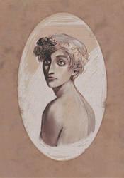 A Young Boy by MoonlightCorvus