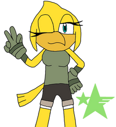 Amara the Canary by Web-Disaster