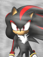 Happy Shadow the Hedgehog by vicenticoTD