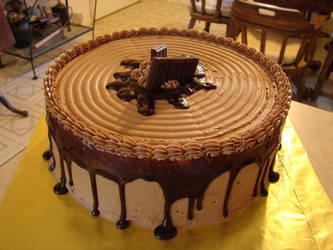 Death by chocolate cake by Rhed-Dawg