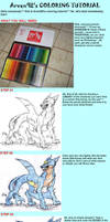Traditional Colouring Tutorial by ARVEN92