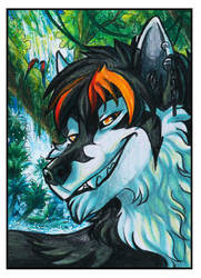 ACEO - Welcome To The Jungle [COMMISSION] by ARVEN92