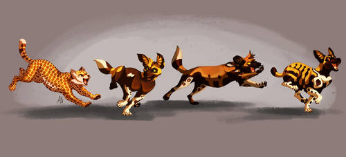 Pups And Kittens by ARVEN92