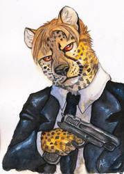 Cheetah In Black [PATREON REWARD] by ARVEN92