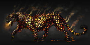 Lava Leopard by ARVEN92