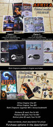 Africa Comic - FOR SALE! + Gadgets! by ARVEN92