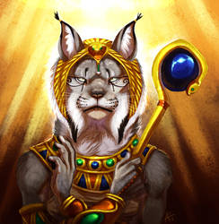 Child Of Sekhmet by ARVEN92