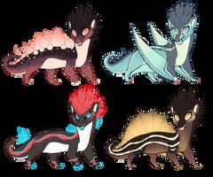 Dinosaur CYOPs! (CLOSED) by pseudodragons-den