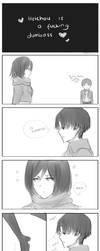 Heichou is a Clumsy Lover Lamecomic by neruteru