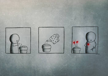 How to grow love by marii85