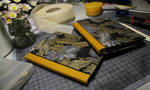 Bookbinding - golden autumn by Creative-Caro