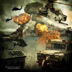 People, let's stop the war by KangTengri