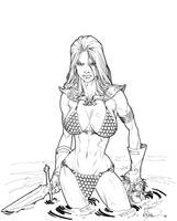 Red Sonja by UnderdogMike