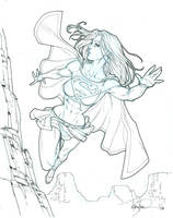 Supergirl commission by UnderdogMike