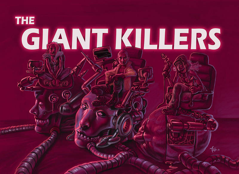 The Giant Killers by Tuxonimo