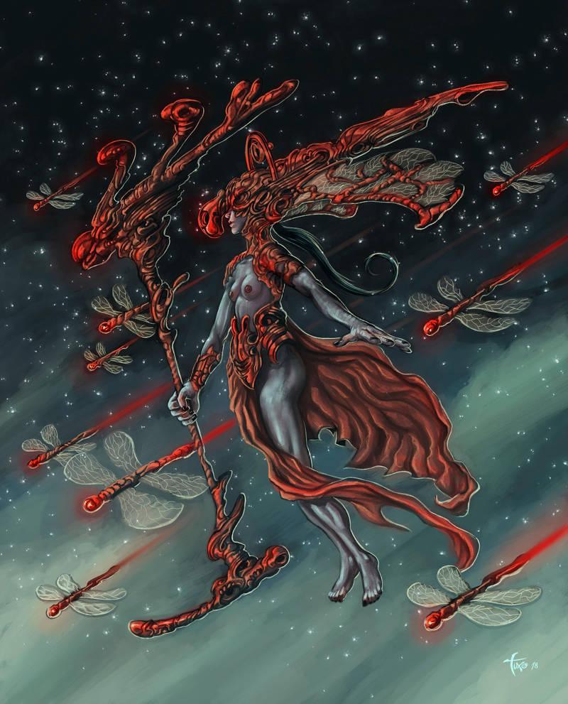 Angelus Dragonfly by Tuxonimo