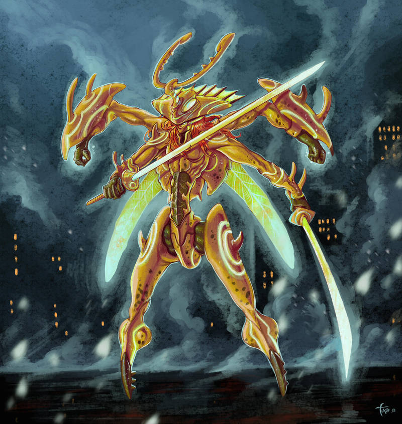 Jeagger the Warrior by Tuxonimo