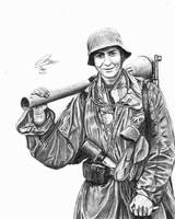 Panzerfaust Soldier by DeoKristady