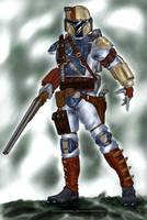 Ayden Stone, Mando Gunslinger by CorranFett
