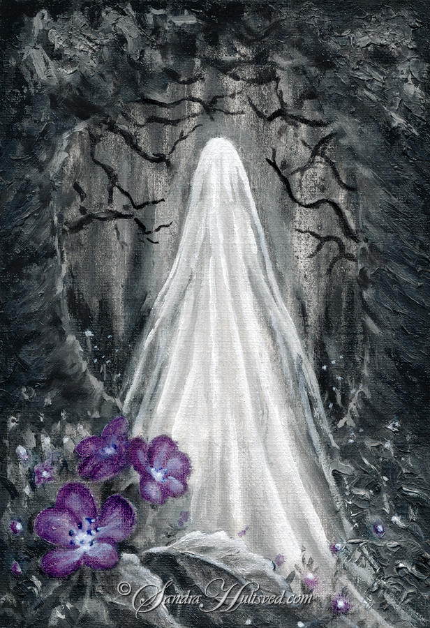Ghost garden by SandraHultsved