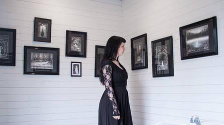 Art in gallery by SandraHultsved
