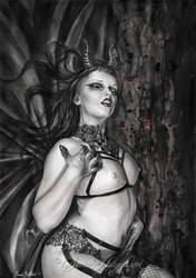 Succubus by SandraHultsved