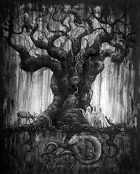 Yggdrasil by SandraHultsved
