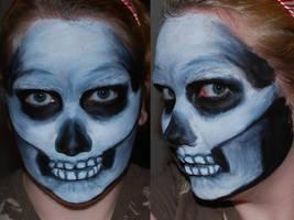 Skull Face Paint II by foxkat