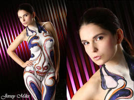 Colorful Body Paint - MAKEUP by foxkat