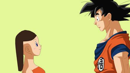 Goku And Ashlie by ilovemew399
