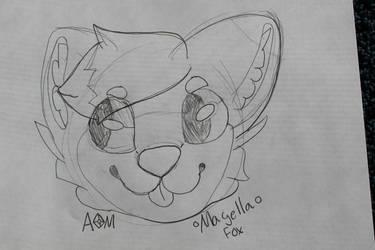Magella Fox Commission! by Amethyst-Moon-Furry