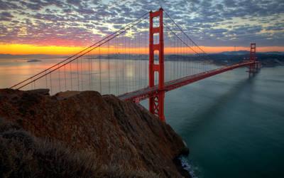 GG Bridge Backdrop HDR by themobius
