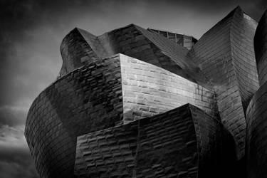 Guggenheim Bilbao BW by themobius