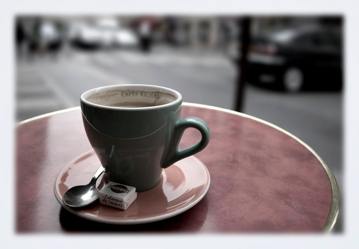 Cafe, Paris by themobius
