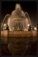 Fountain at Midnight by themobius