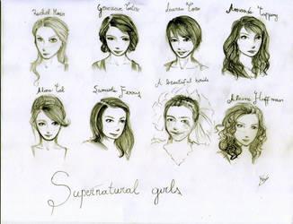 Supernatural girls. by Smilexdraw