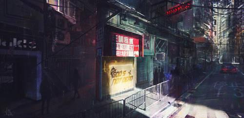 Cyberpunk 2028 by JobMenting