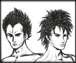 Saiyans - Vegeta and Goku by Born-to-be-MCG