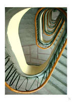rolling stairs by Nanera