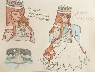 Crystal's Mother by SarahsPortfolio