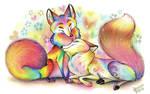Love like a rainbow by Deygira-Blood