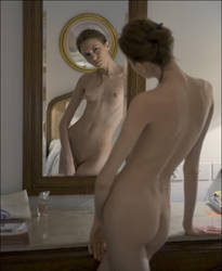 mirror portrait by photoport