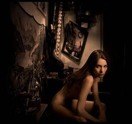 Julia in an interior by photoport