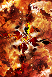 The Four Elements: Fire by heavenriver
