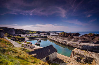 Ballintoy Harbour by marinsuslic