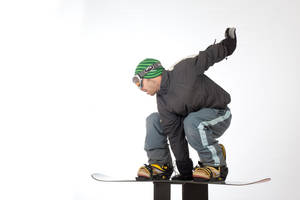 Snowboarder 018 by ISOStock