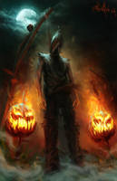 To Die on Halloween by EnricoOttini